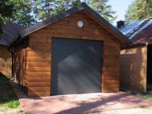 Zamknięty garaż